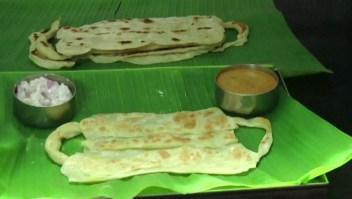 Restaurante promueve el uso de tapabocas con comida