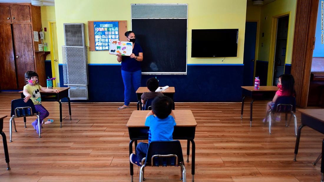 Lo que sabemos sobre los riesgos del coronavirus para niños en edad escolar