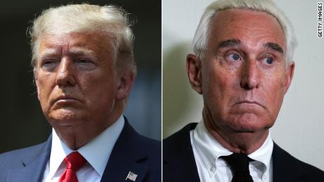 Trump conmuta la sentencia de su amigo Roger Stone