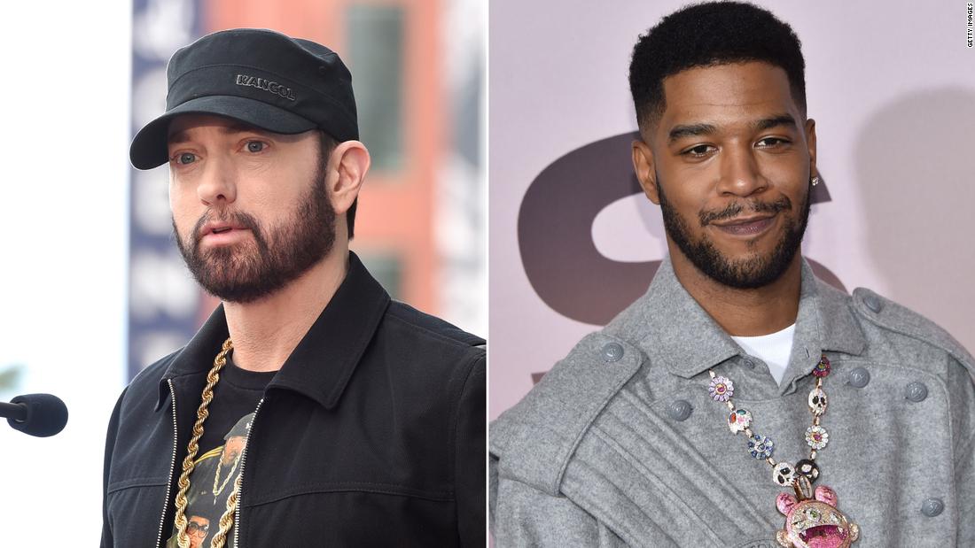 Eminem apunta contra los que se niegan a usar mascarilla en un nuevo tema con Kid Cudi