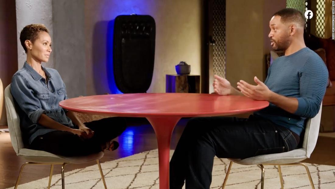 Jada Pinkett Smith y Will Smith confirmaron la relación de ella con August Alsina