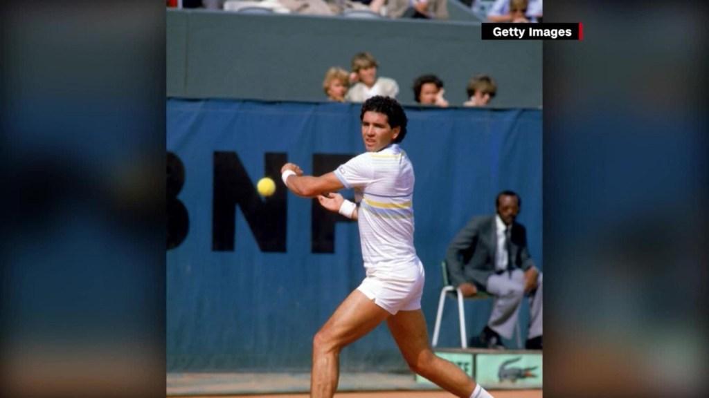 Van 30 años del histórico triunfo de Andrés Gómez en Roland Garros