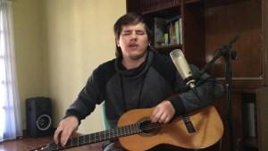 """Nahuel Pennisi canta """"Vuelve"""", grabado en cuarentena"""