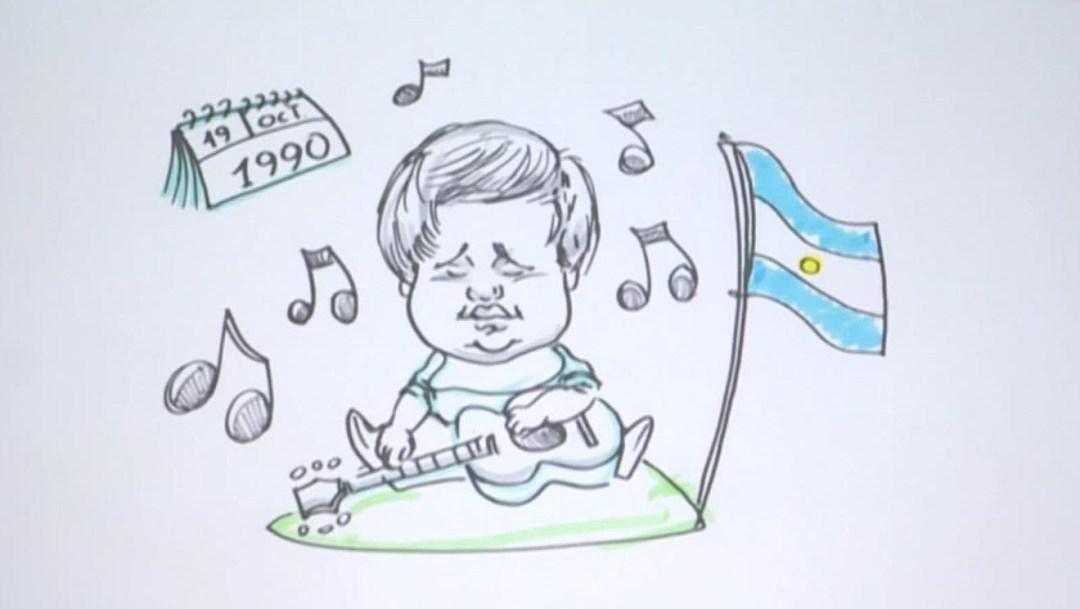 Conoce la vida del argentino ciego Pennisi en 70 segundos