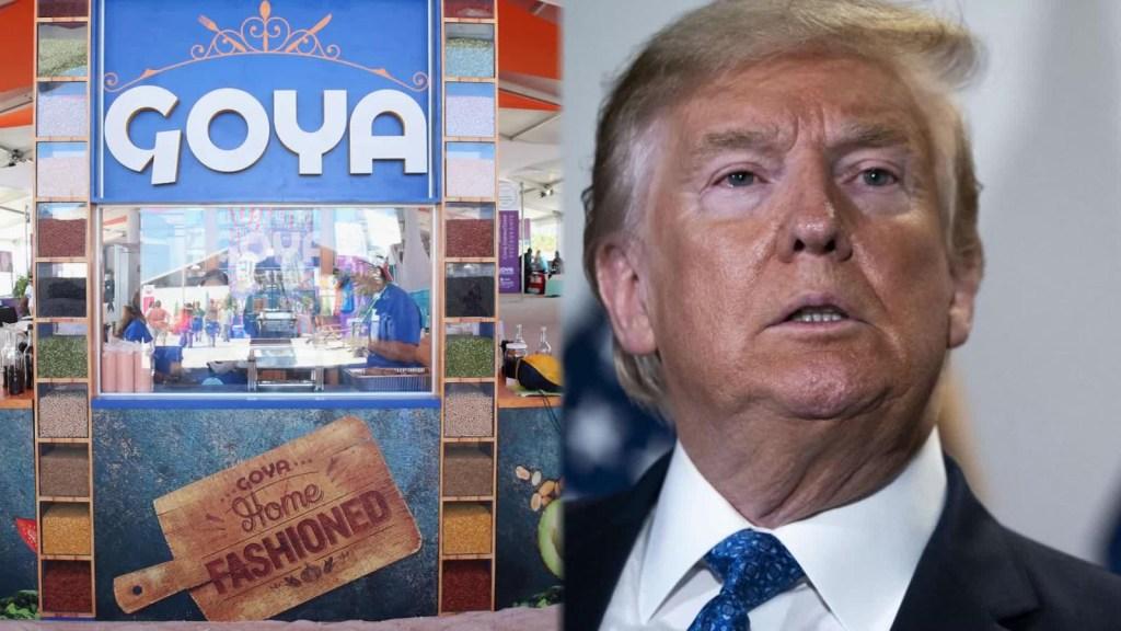 Trump publica tuit sobre Goya