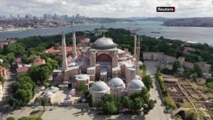 Papa Francisco reacciona ante la idea de convertir Templo de Santa Sofía en mezquita