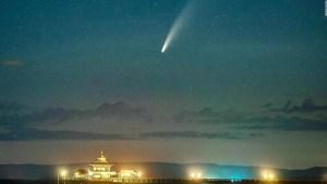 Te contamos cuándo podrás ver el cometa NEOWISE