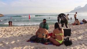 Playa, sol y más coronavirus: así reabre Río de Janeiro