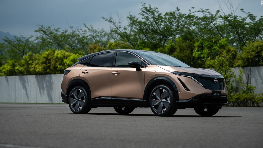Nissan presenta su primer modelo eléctrico: Ariya