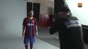 Esta es la nueva camiseta del Barcelona, ¿qué te parece?