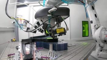 Bicicleta de una pieza hecha con impresión 3D