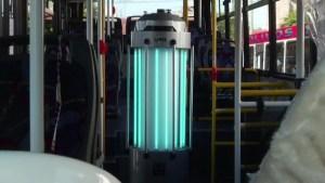 Tecnología en pandemia: Robots caza gérmenes
