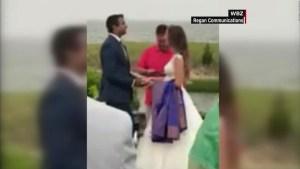 Un alcalde en EE.UU. salva la boda de una pareja