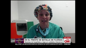 Testimonio desde un hospital a tope con pacientes de covid-19