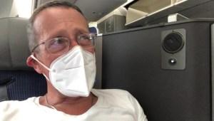 Volar de Nueva York a Londres es muy diferente en pandemia