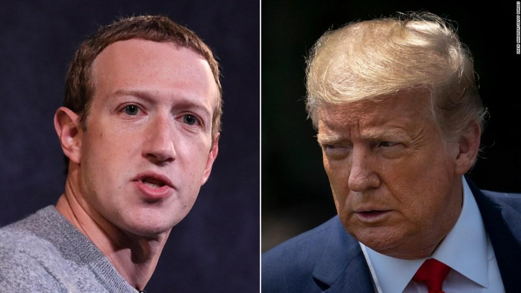 Mark Zuckerberg, quien no suele criticar a Trump, lo señala por socavar a los expertos en salud