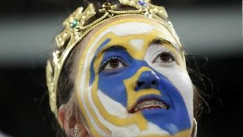 La afición del Real Madrid celebró respetando las normas sanitarias