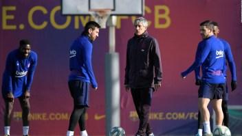Setién responde a Messi: El Barcelona puede ganar la Champions