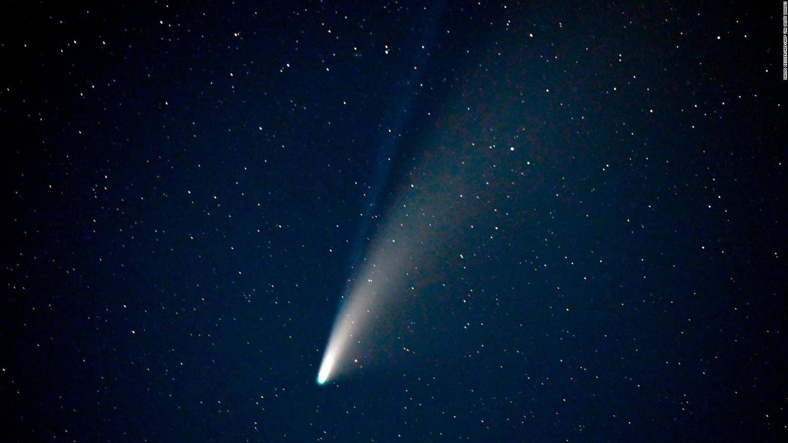 Espectacular Imagen Del Cometa Neowise Desde El Espacio Video Cnn