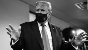 Donald Trump - mascarilla