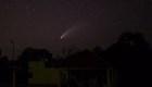 Video capta recorrido del cometa NEOWISE en México