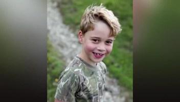 Nuevas fotos del príncipe Jorge en su séptimo cumpleaños