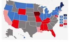 Millones de exconvictos no pueden votar en EE.UU.