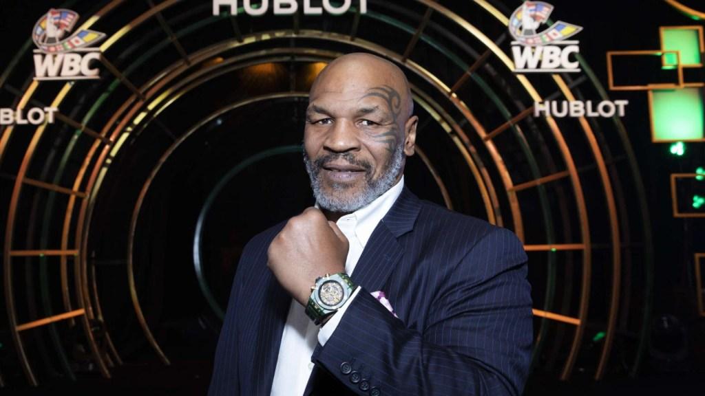 Mike Tyson anuncia fecha para su regreso al boxeo
