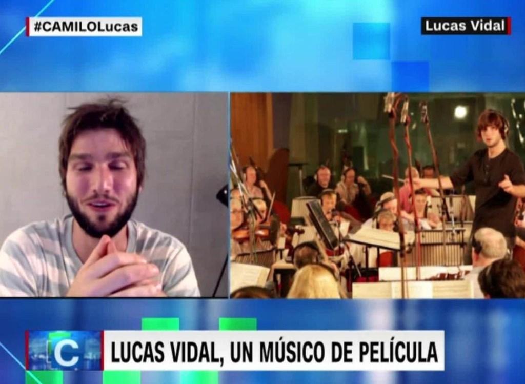 Lucas Vidal, un músico de película