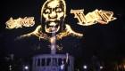 Hologramas por EE.UU. para homenajear a George Floyd