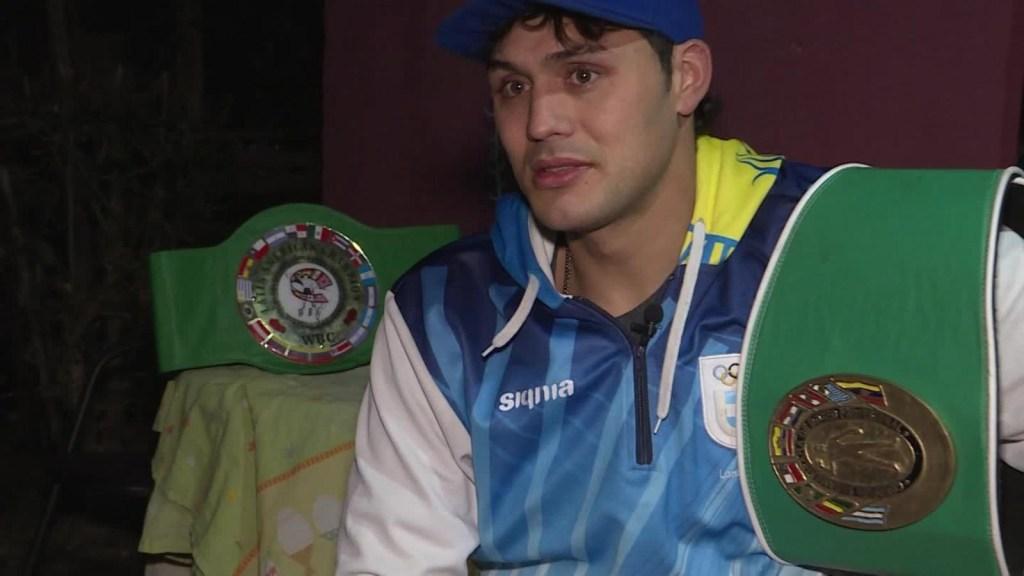 El boxeador que recoge basura para llegar a Tokio 2020