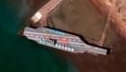 Irán ataca a réplica de portaviones estadounidense