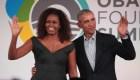 Michelle Obama entrevista al expresidente Barack