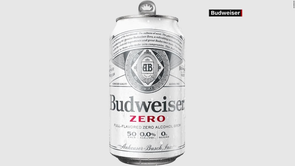 Budweiser lanza cerveza sin alcohol
