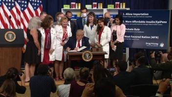 Decretos de Trump no bajarían precios de medicamentos de inmediato