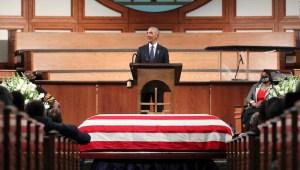 Obama, Bush y Clinton despiden a John Lewis