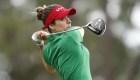 La golfista Gaby López se pierde torneo por coronavirus