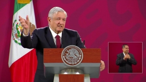 López Obrador: Usaré tapabocas cuando no haya corrupción