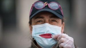 coronavirus mascara sonrisa