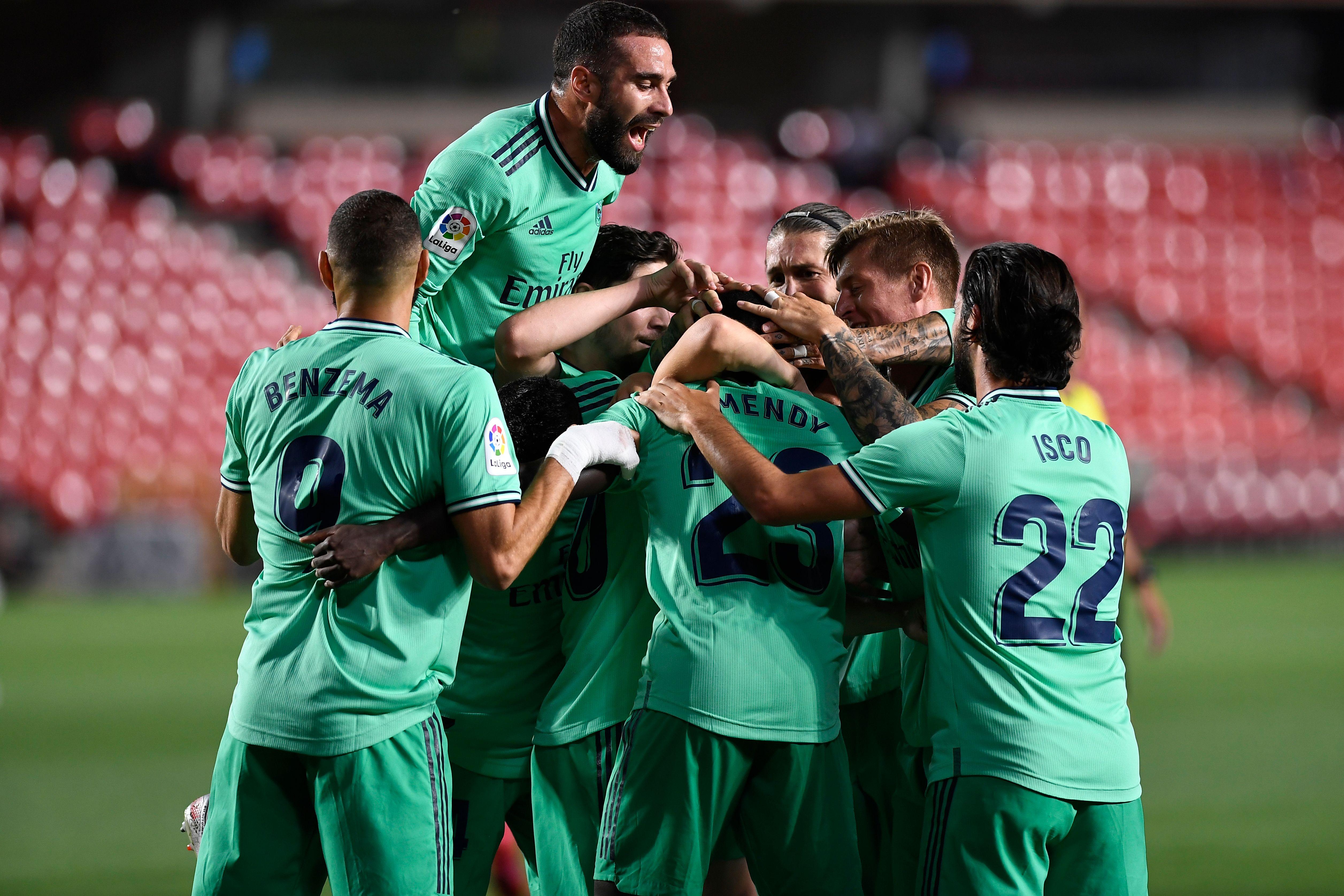 Real Madrid, a una victoria de ser campeón de España