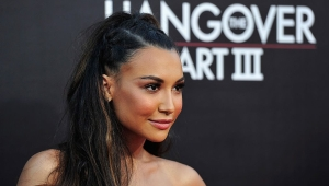 "WESTWOOD, CA - MAY 20: Actress Naya Rivera attends the premiere of Warner Bros. Pictures' ""Hangover Part 3"" at Westwood Village Theater on May 20, 2013 in Westwood, California. (Photo by Frazer Harrison/Getty Images)"