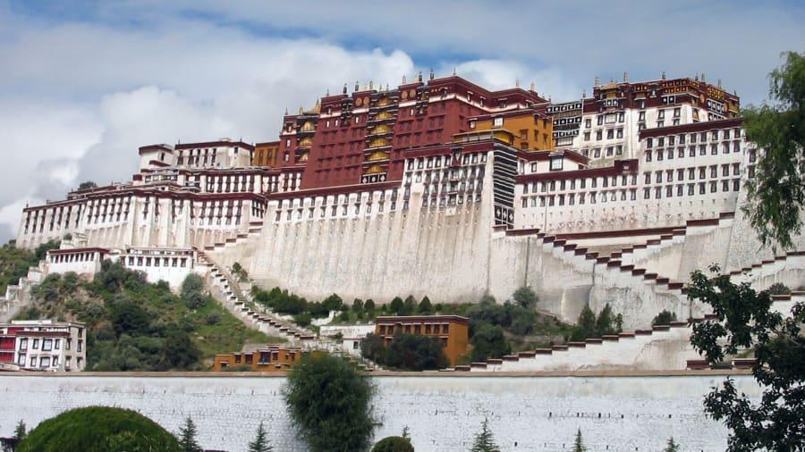 """Canever también estuvo en el Tíbet, el remoto territorio conocido como """"techo del mundo"""" (Guilherme Canever)."""