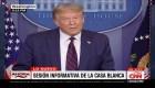 Trump sobre el coronavirus en EE.UU.: Se pondrá peor antes de mejorar