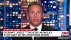 Sindicato de maestros demanda por la apertura