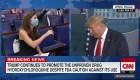 Trump abandona una conferencia de prensa tras una pregunta de CNN sobre coronavirus
