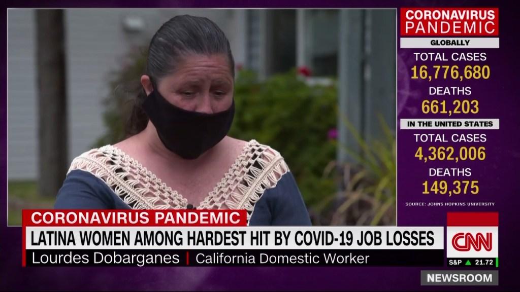 Las latinas, entre las más afectadas por el desempleo a raíz del covid-19