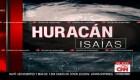 Huracán Isaías azota a República Dominicana