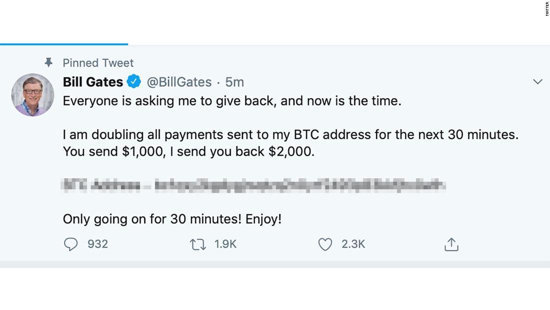 Estafadores hackearon famosas cuentas de Twitter y robaron millones de dólares
