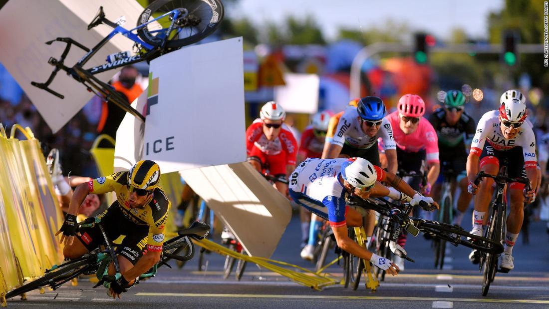 Fabio Jakobsen en coma tras accidente en Tour de Polonia – CNN