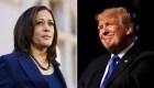 Trump avala teoría falsa que dice que Harris incumple con los requisitos para ser candidata
